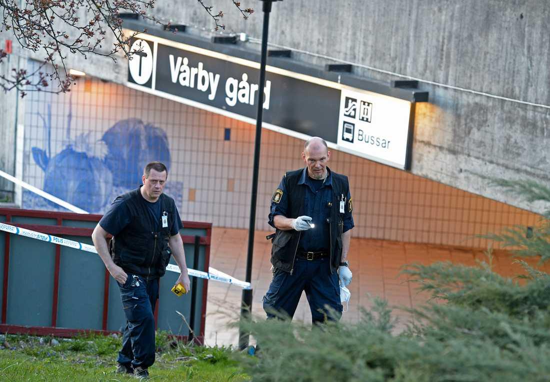 Skjutning Vårby Gård