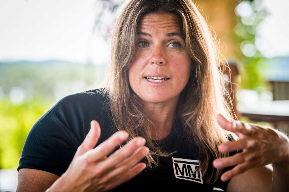 """Pernilla Wiberg valde """"Mästarnas mästare"""" före """"Superstars""""."""