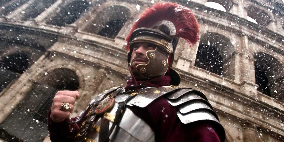 Arkivbild. En annan gladiator som inte har med skandalen i Jönköping att göra.