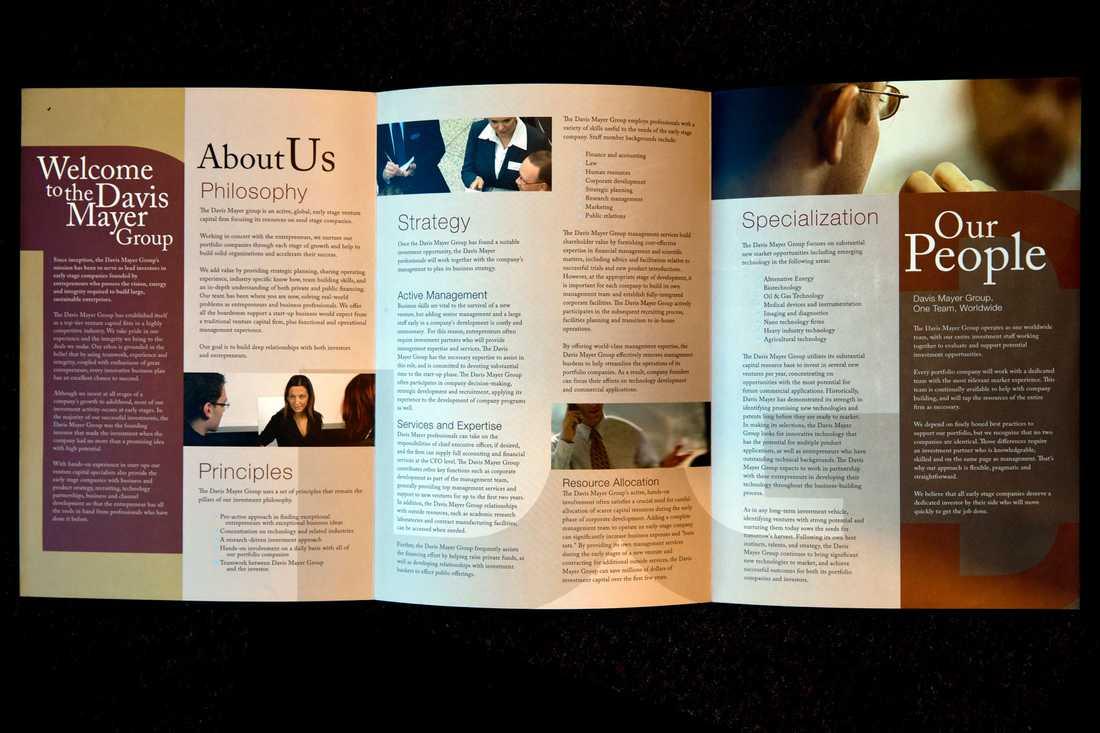 Ytterligare ett exempel på en broschyr från ett blufföretag.