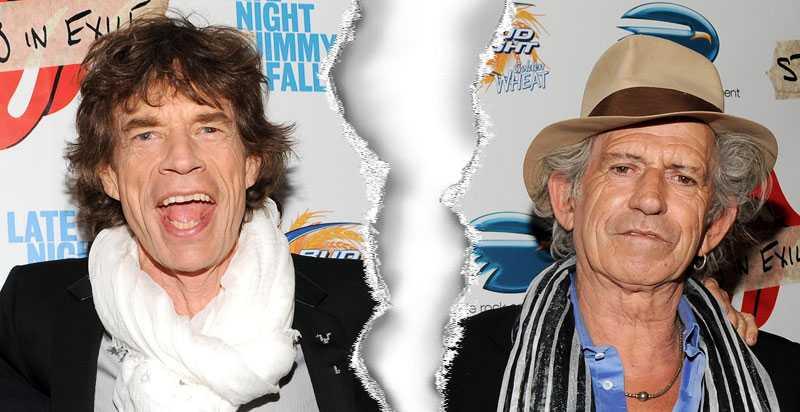 PENISBRÅK Mick Jagger är förbannad på bandkollegan Keith Richards – som skrivit i sin biografi att sångaren har liten penis. Bråket hotar nu Rolling Stones världsturné.