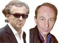 Henri-Lévy & Houellebecq.