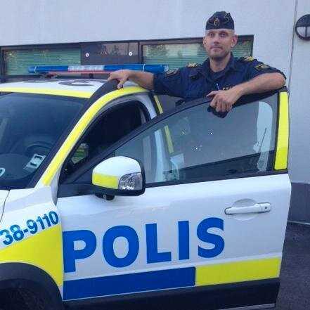 Erik Åkerlund, polisområdeschef i Botkyrka.