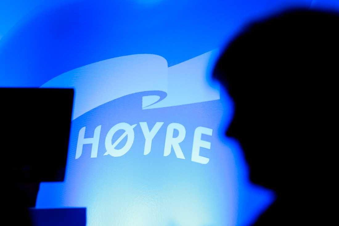 Med ett år kvar till kommun- och landstingsvalen i Norge drar konservativa Høyre igång sin valkampanj. Arkivbild.