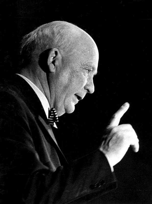 """lyssna på tingsten Kulturradikale liberalen Herbert Tingsten (1896–1973) är aktuell i nya biografin """"Herbert Tingstens sista dagar"""" av Per Wirtén. Läs och lär, uppmanar Åsa Linderborg dagens liberaler."""