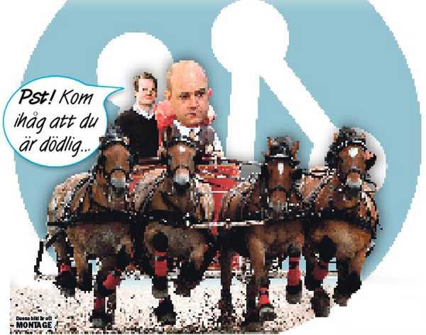 Lyssnar? Har det otroliga hänt. Har Fredrik Reinfeldt börjat lyssna på Per Schlingmann?