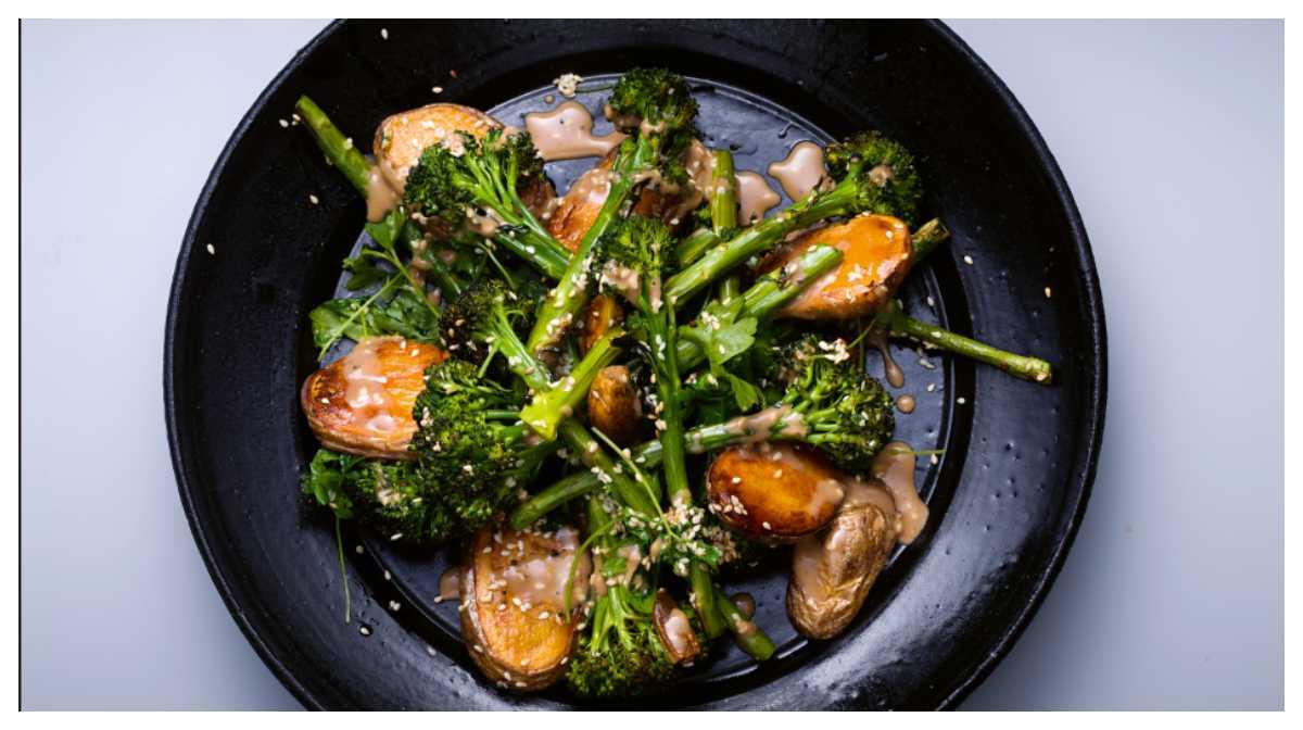 Enkelt och gott – rostad broccoli & potatis