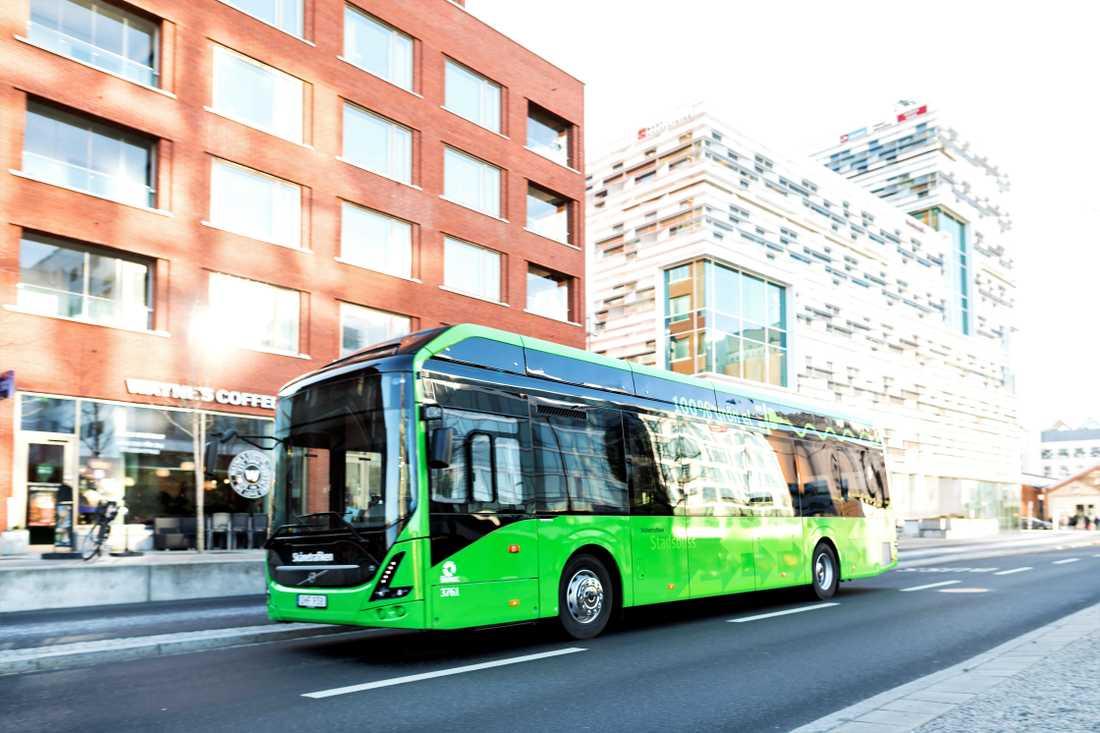 Det ser ut att blir fler elbussar i Malmö om två år.