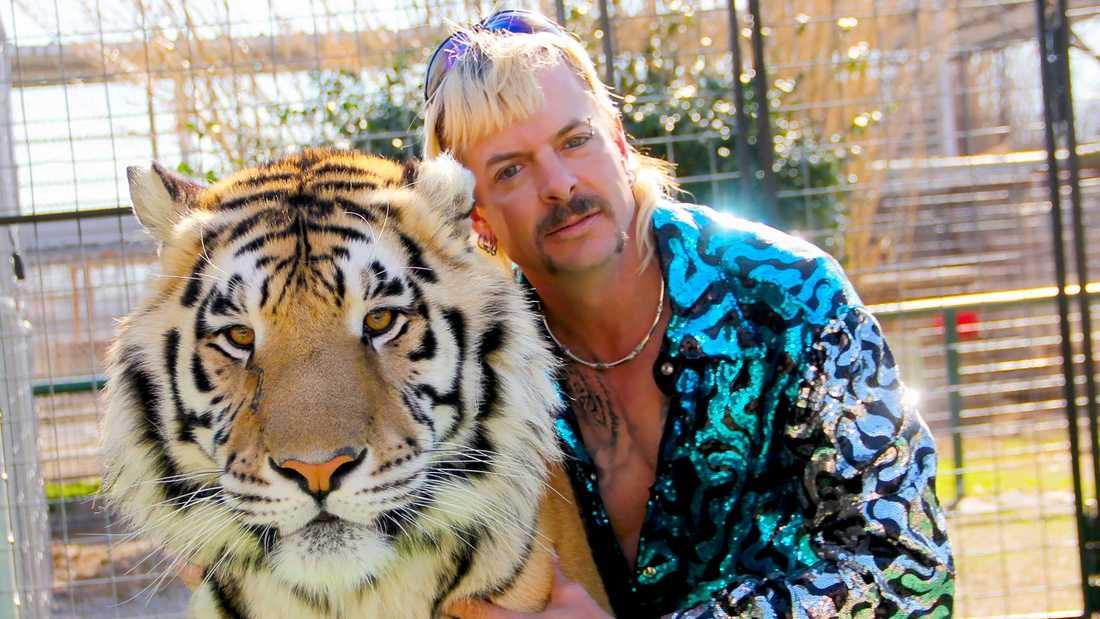 """Netflix-serien """"Tiger king"""" är omstridd. Till höger Joe """"Exotic"""" Maldonado-Passage."""
