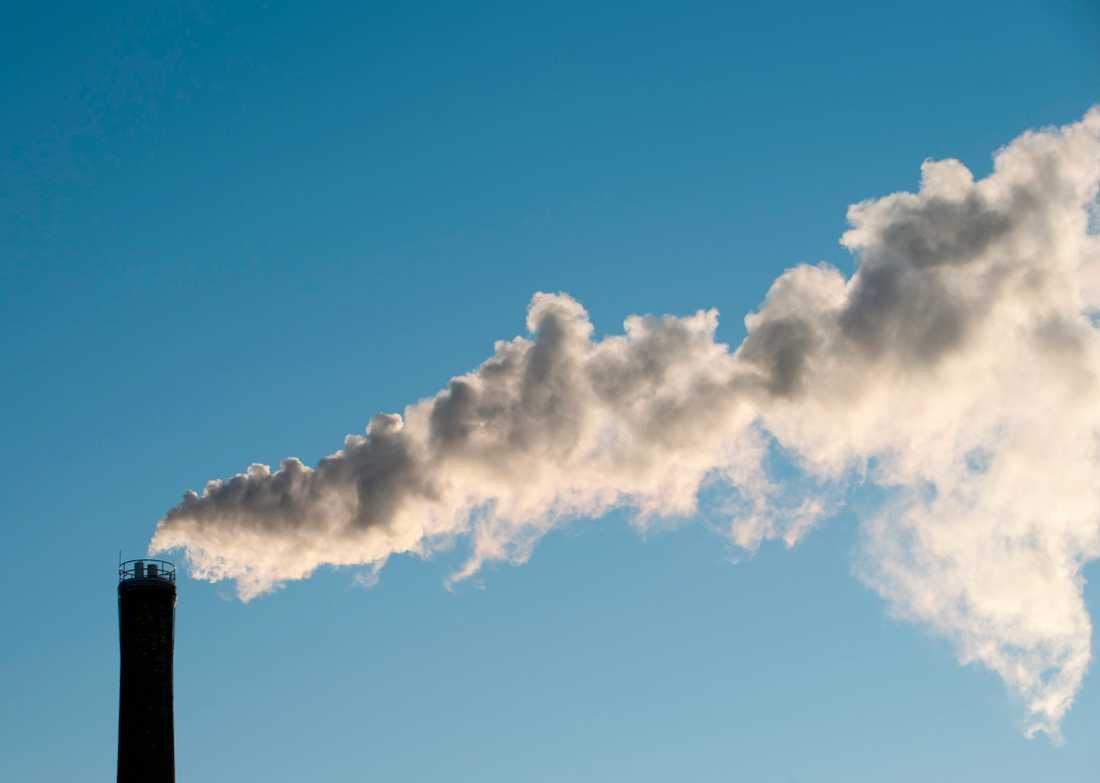 Utsläppen måste minska för att klimatmålen ska nås. Arkivbild