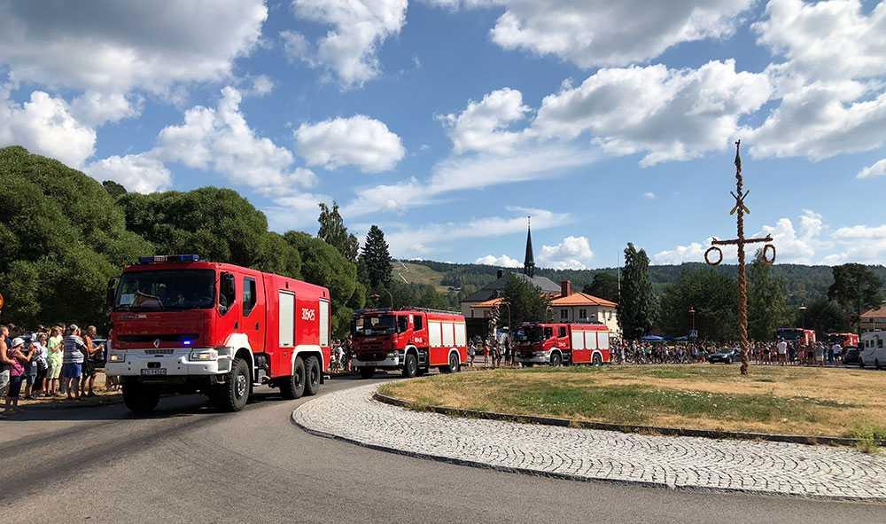 Bränder kommer att bli allt vanligare. Polska brandmän bistod Sverige i sommarens skogsbränder.