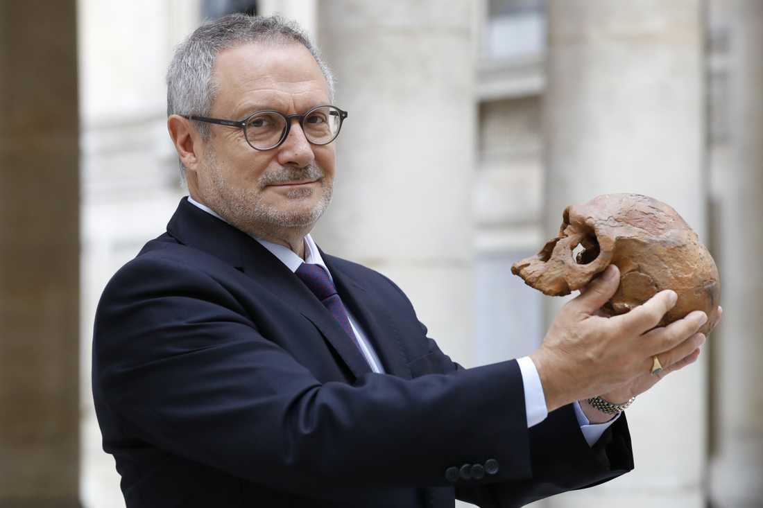 Den franska paleoantropologen Jean-Jacques Hublin har lett utgrävningarna.