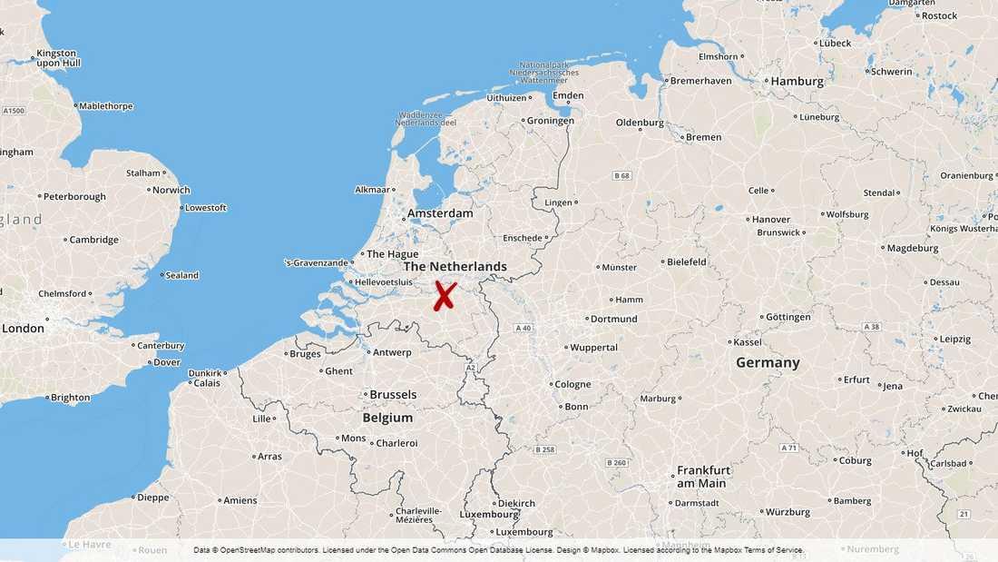 Fyra barn omkom i en tågkrock i Nederländerna.