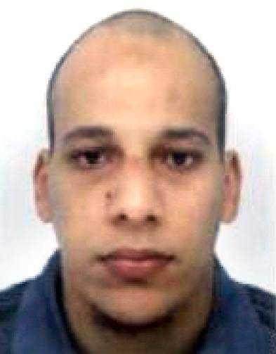 DÖD Chérif Kouachi, 32, Dömdes till fängelse 2005 för att ha deltagit i rekrytering av jihadister. Hade fru och ett barn.