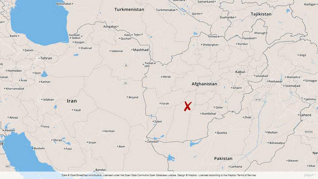 Anfallet som träffade ett bröllopsfölje skedde i området Khaksar i distriktet Musa Qala i södra Afghanistan.
