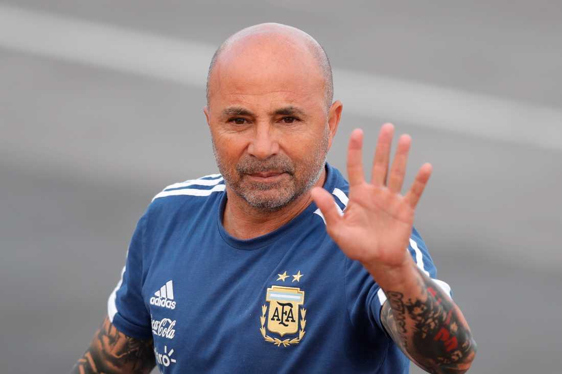 Jorge Sampaoli sparkas.