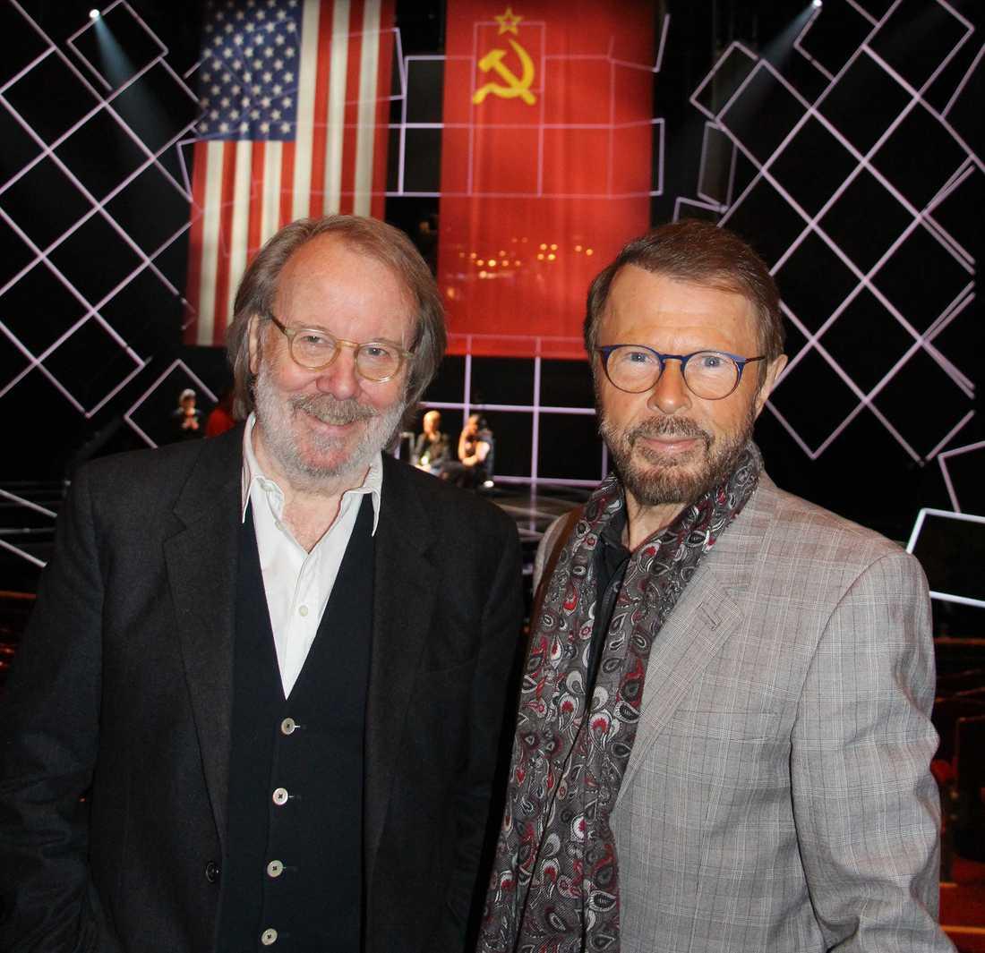 Benny Andersson och Björn Ulvaeus.