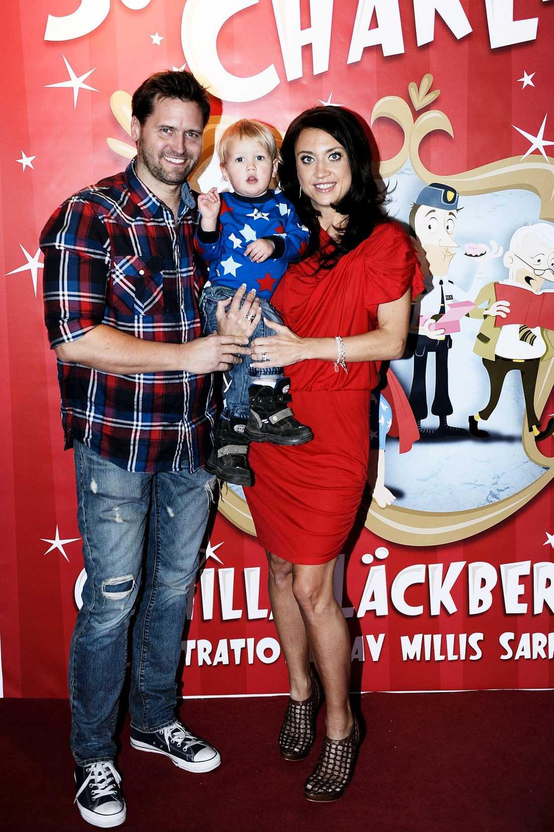 """Camilla Läckberg och Martin Melin var """"först ut"""" med namnet Charlie. Sonen, som i dag är två år, fick snart en namne i..."""