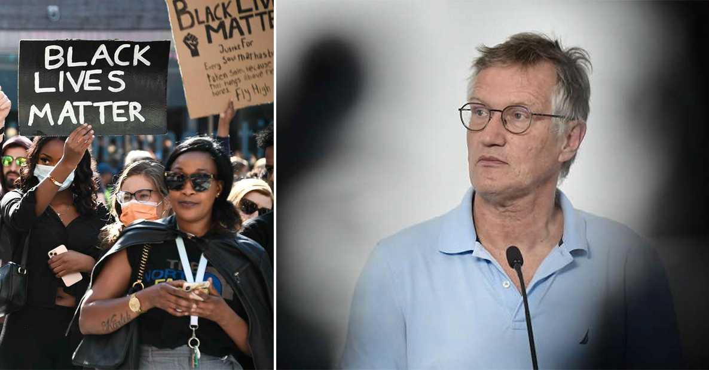 Anders Tegnells skarpa budskap till Malmö-demonstranterna