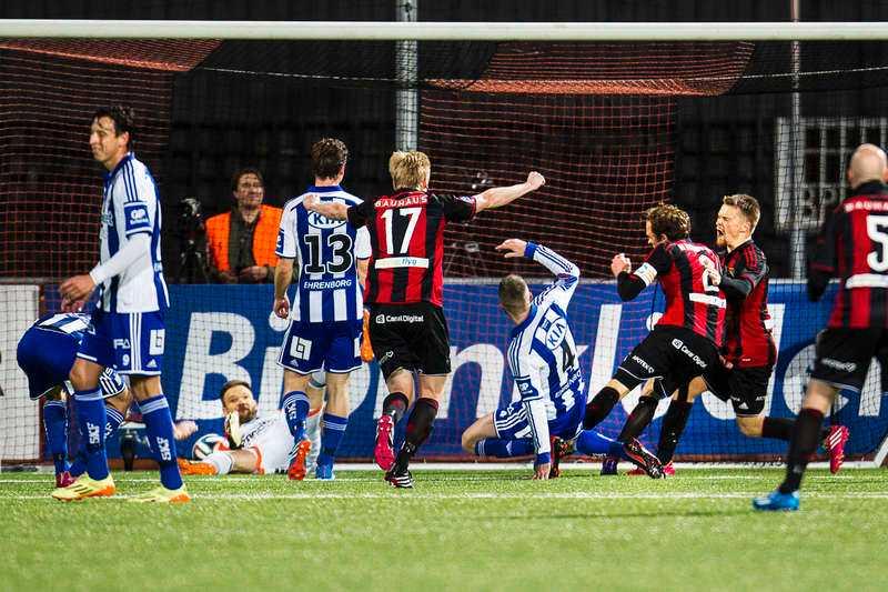 IFK Göteborg hade full kontroll på matchen i 45 minuter och såg ut att gå mot tre säkra poäng. Men i andra halvlek föll allt ihop för gästerna när BP tog över kommandot och snodde åt sig en poäng.