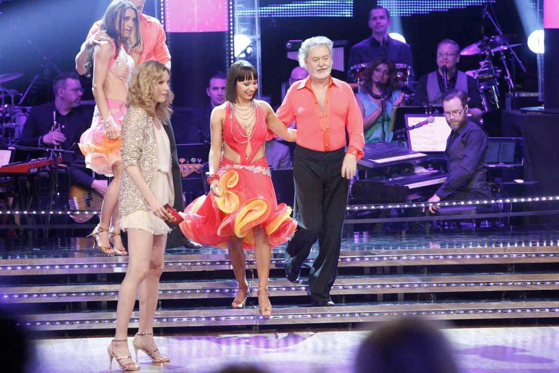 "Bengt Frithiofsson fick lämna ""Let's dance"". Foto: Magnus Sandberg."