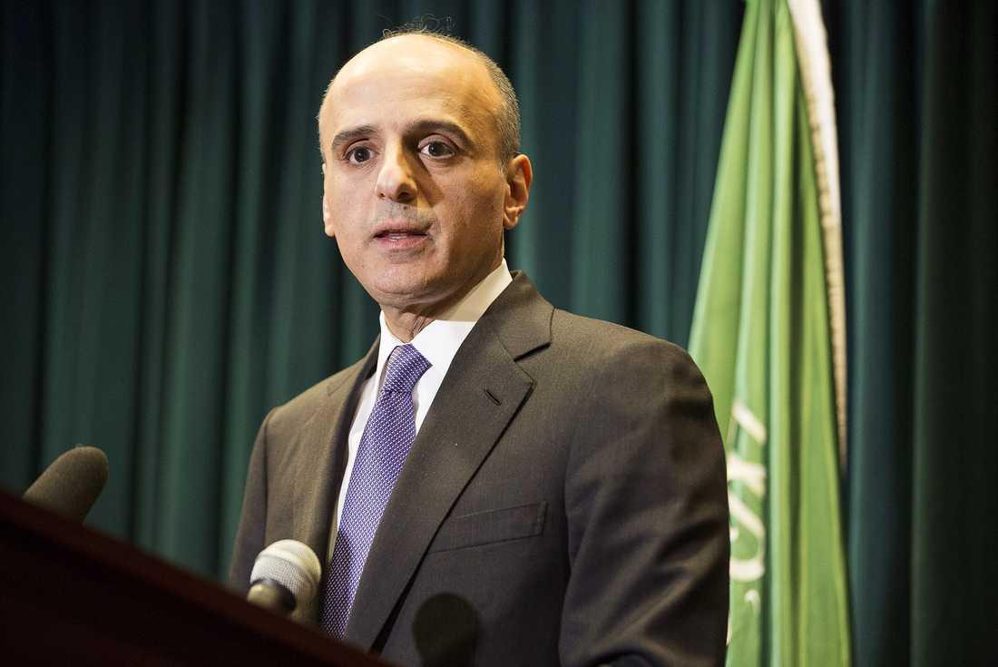 USA:s ambassadör i Jemen Adel Al-Jubeir.
