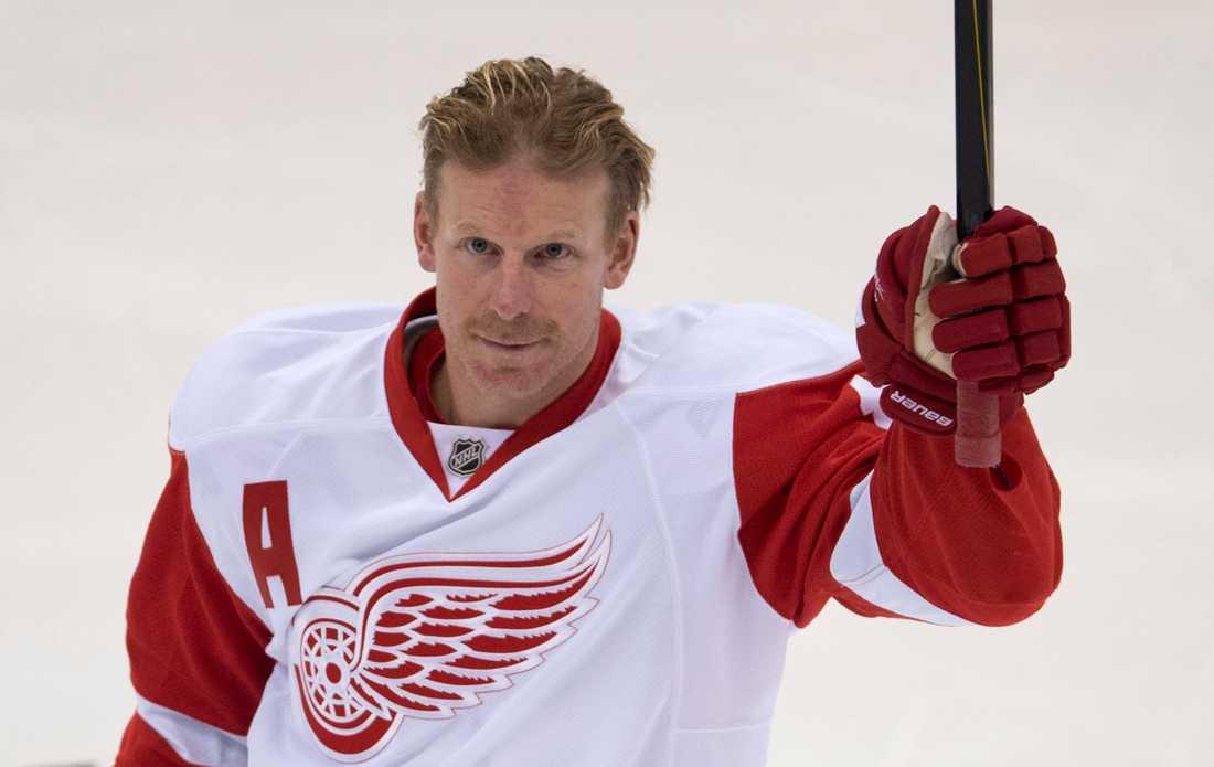 Inför säsongen 2014 gick Daniel Alfredsson till Detroit.