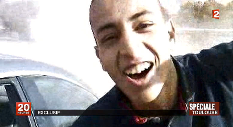 Ännu en bild av Mohammed Merah som publicerats i franska medier.