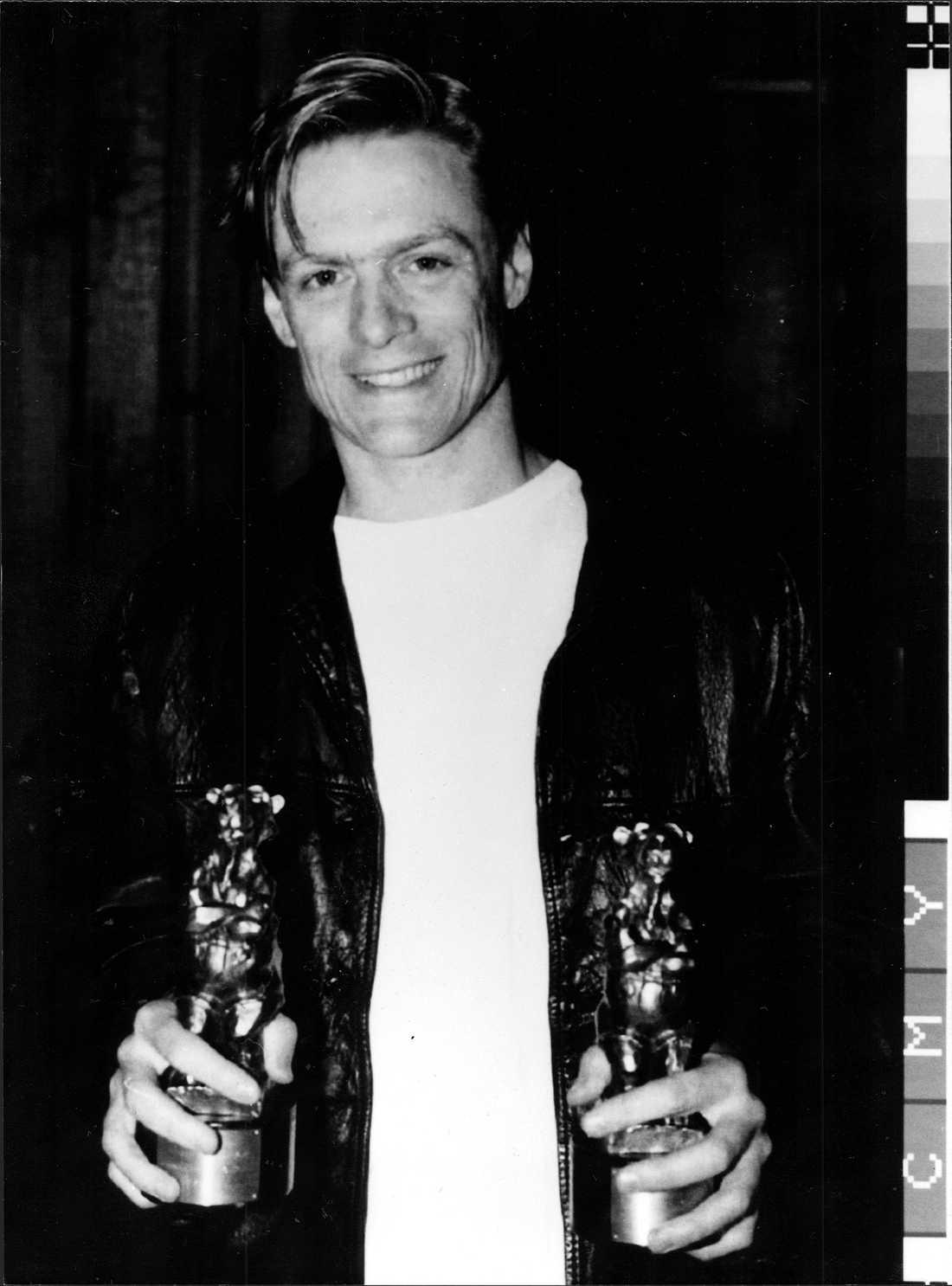 Bryan Adams fick två Rockbjörnar 1991, för årets manliga artist och för årets utländska album.