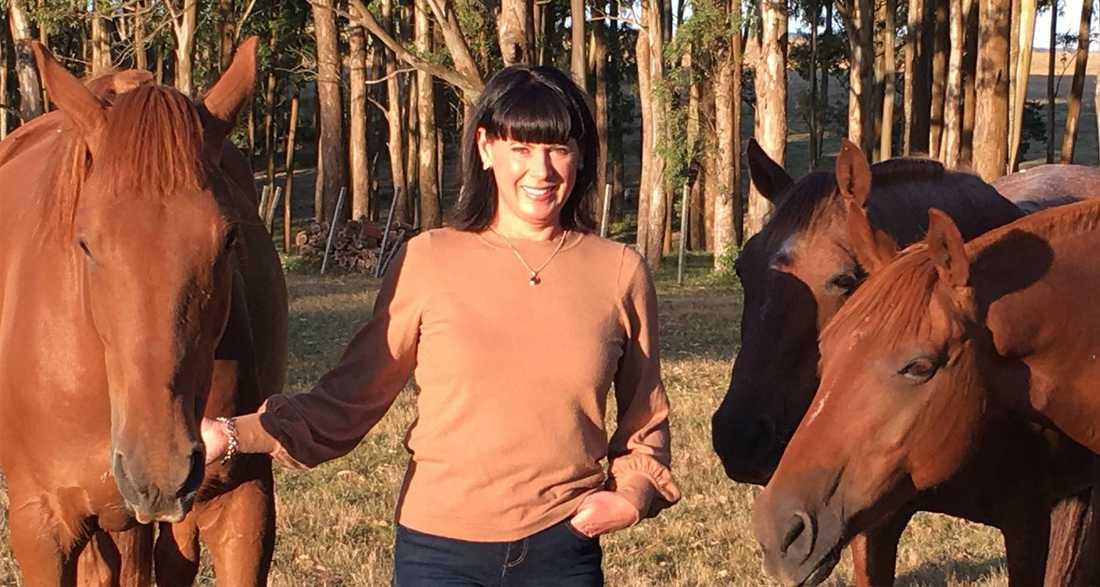 """Svenska Malin Morén driver en häst- och vingård nära den uruguayanska kusten: """"Man blir lite orolig."""""""
