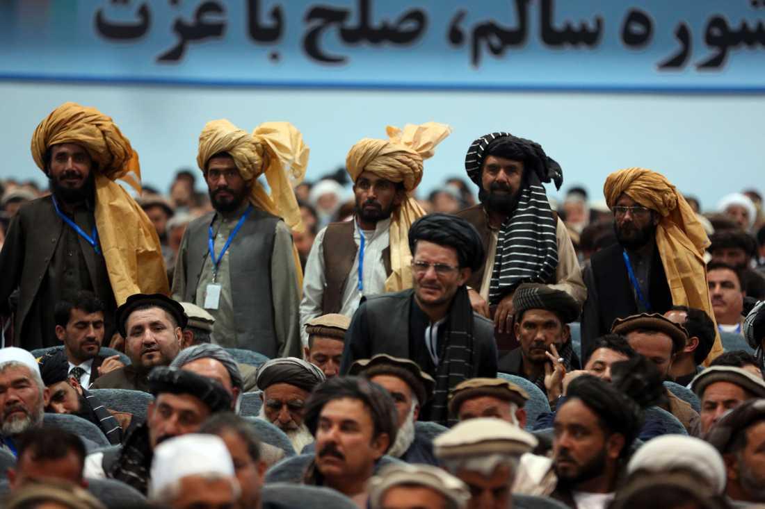 Afghanska delegater samlades i förra månaden för att diskutera framtida fredssamtal med talibanrörelsen. Men det finns en rädsla i att förhandlingarna kan resultera i än mer försämrade villkor för afghanska kvinnor,