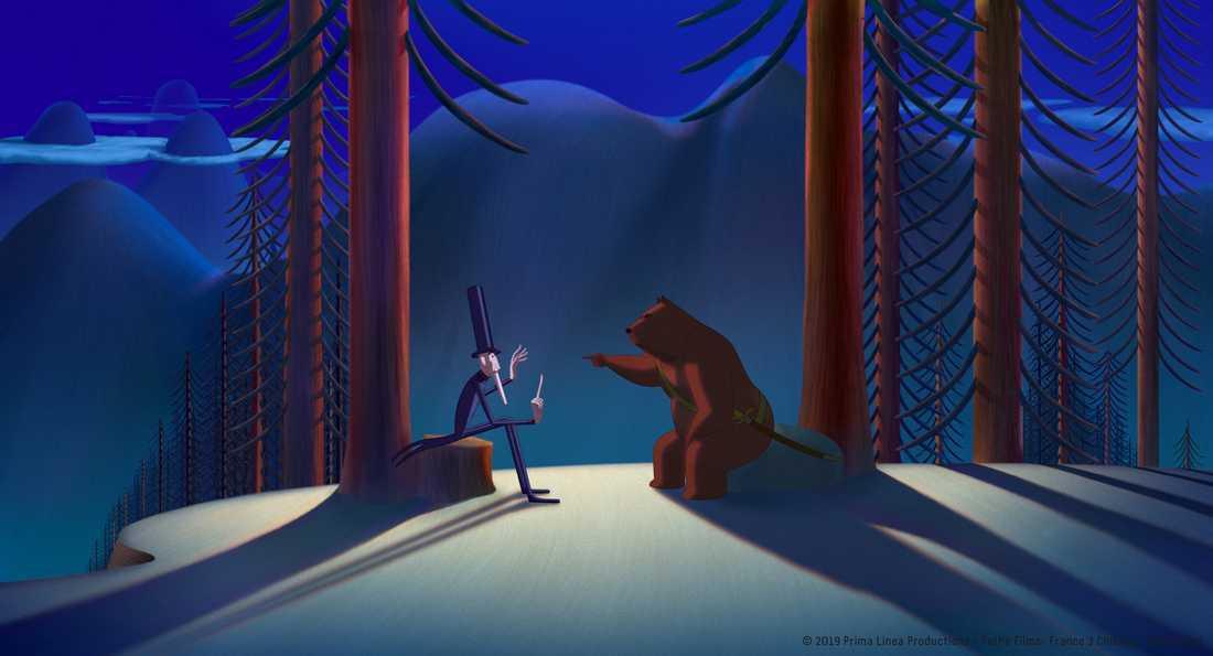 """""""Sagan om björnarna som erövrade Sicillien"""""""