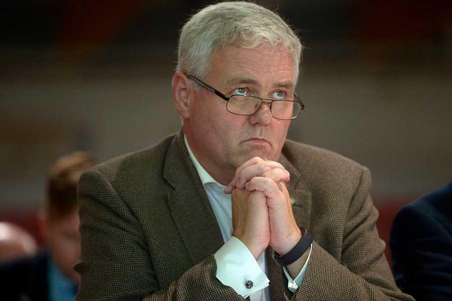 Anders W Jonsson, tf partiledare för Centerpartiet.