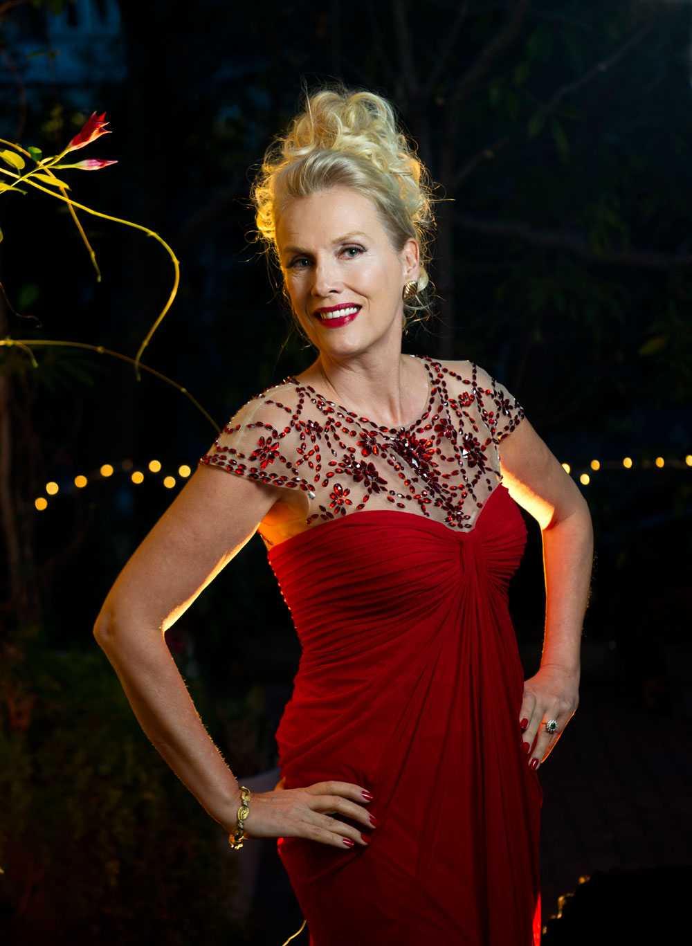 Gunilla Persson fyller 57 år på nyårsafton – något som ska firas ordentligt.