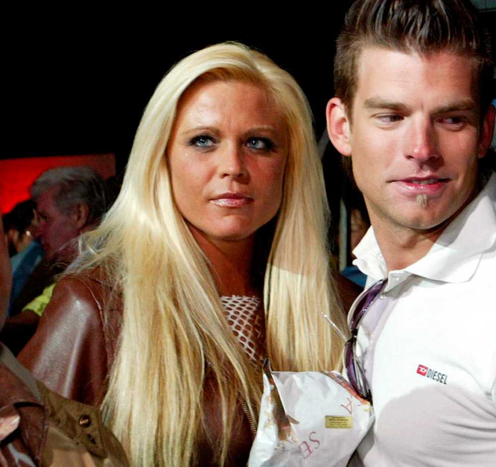 Linda Rosing och Micke Lindgren - Big Brother 2003.