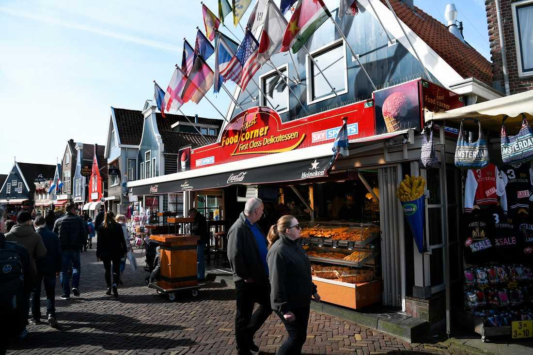 I Volendam röstade röstade hälften av befolkningen på Geert Wilders förra valet.