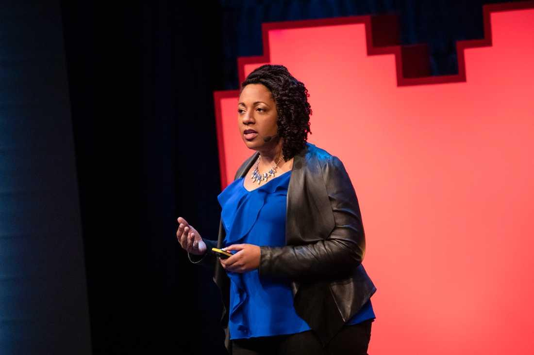 Cathryn Posey, grundare av Tech by Superwomen, talade på Internetdagarna om vikten av etisk kod, jämställdhet och mångfald i techindustrin.