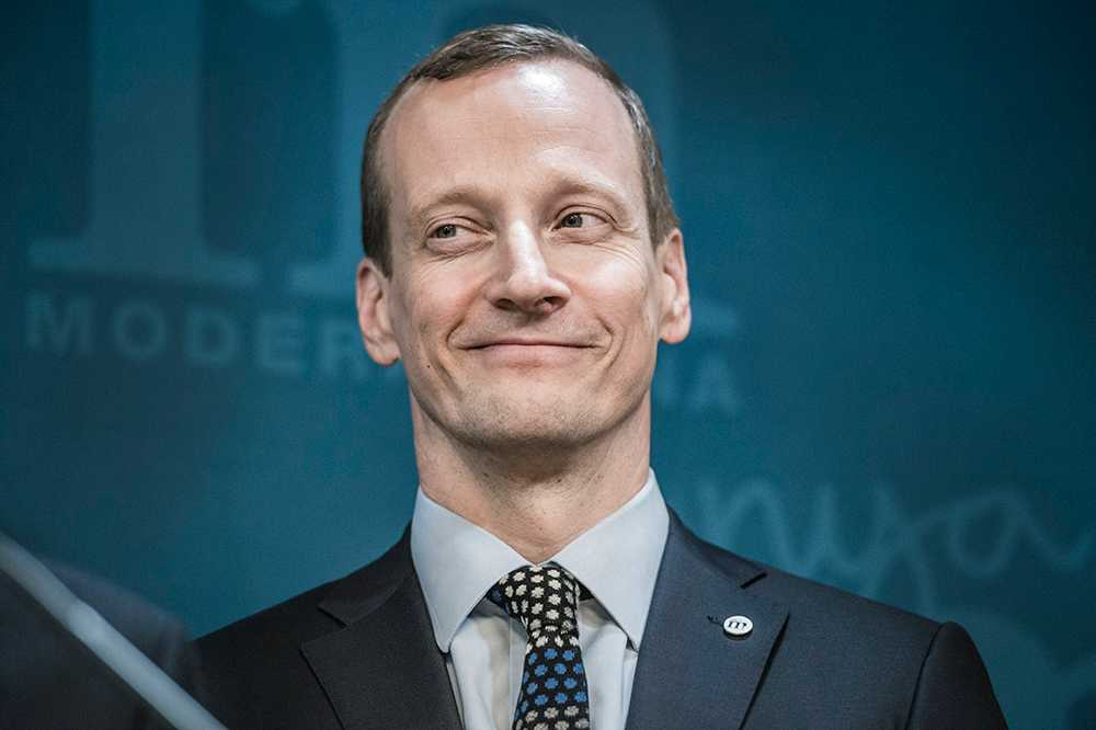 Moderaternas vice partisekreterare Anders Edholm.