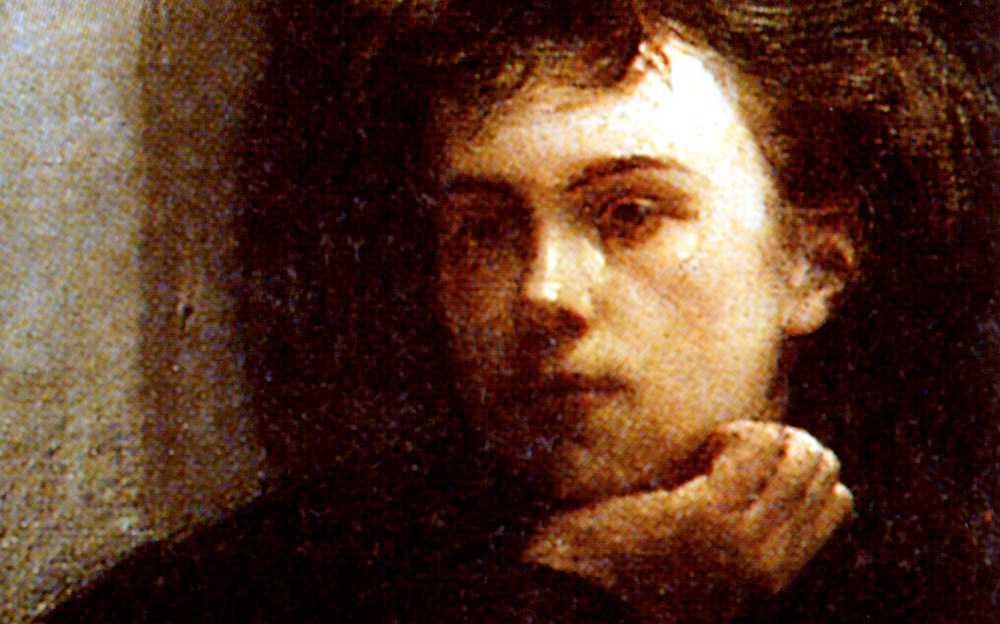 Poeten Arthur Rimbaud (1854–1891).