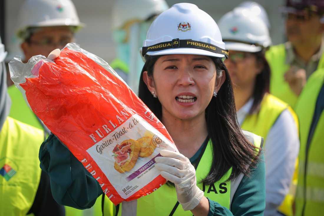 Miljöminister Yeo Bee Yin vill inte att Malaysia utnyttjas som sopstation av industrialiserade länder.