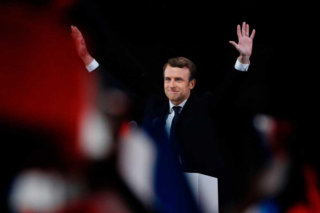 Emanuel Macron.