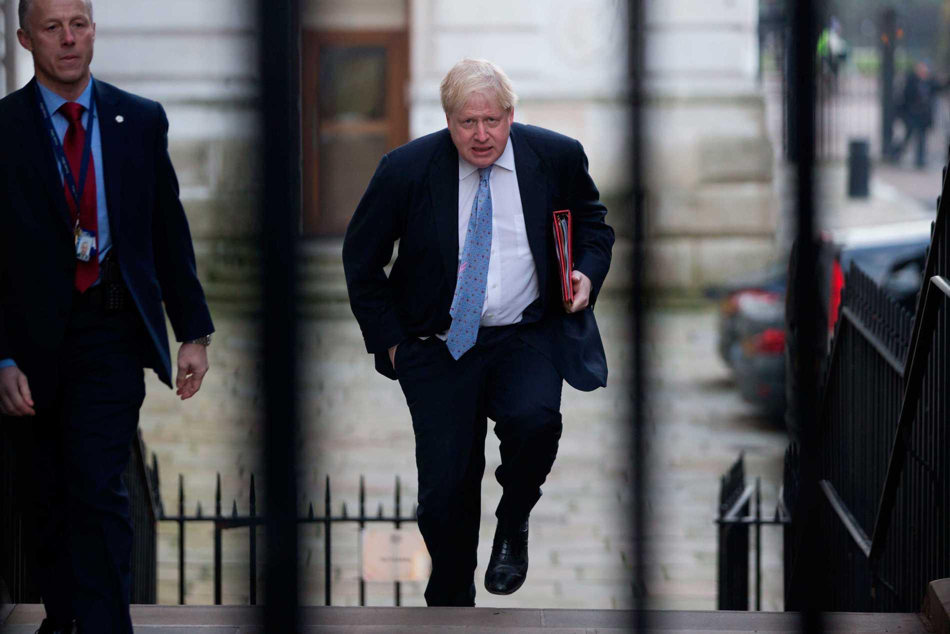 Storbritanniens utrikesminister Boris Johnson jämförde i veckan Frankrikes president François Hollande med en nazistisk lägervakt.