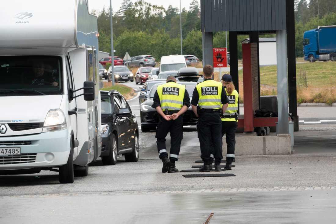 Det blir än en gång svårt för svenskar från Skåne och Kronoberg att resa in i Norge. Arkivbild.