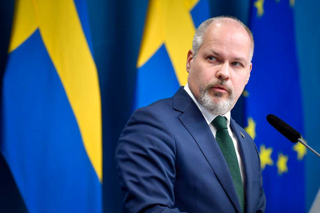Justitie- och migrationsminister Morgan Johansson (S) tycker att Sluta skjut-projektet är en fungerande metod. Arkivbild.