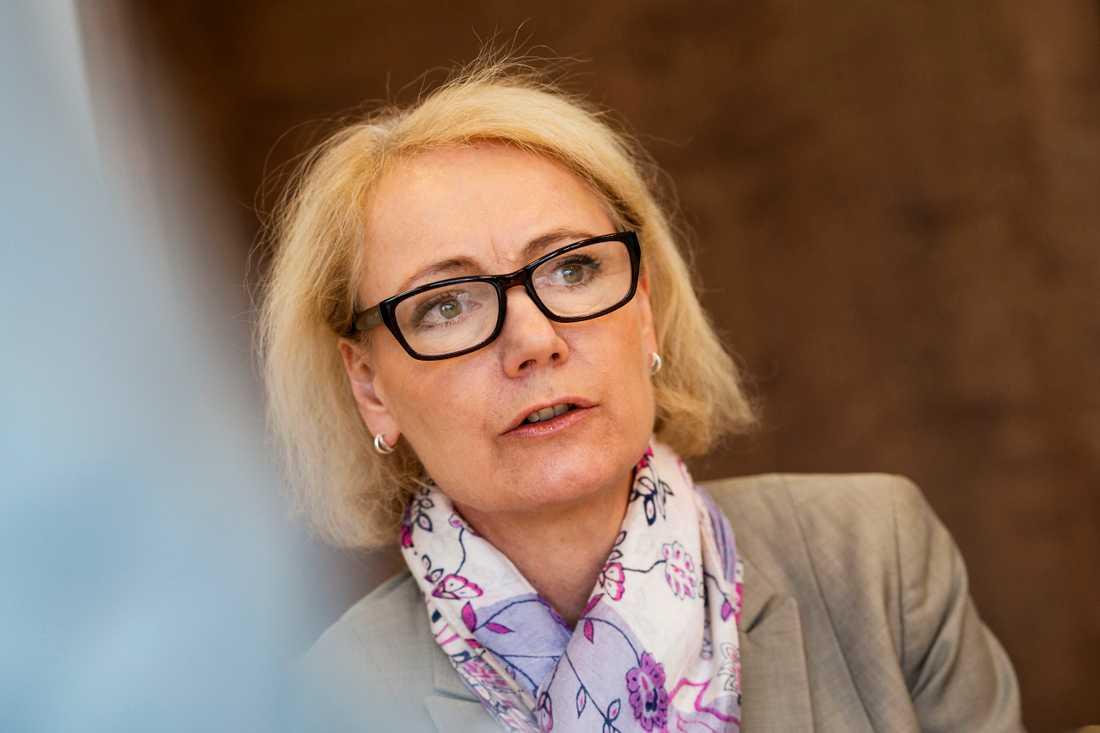 Charlotte Petri Gornitzka, ordförande i OECD:s biståndskommitté, tidigare generaldirektör för Sida. Arkivbild.