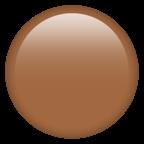Brun cirkel.
