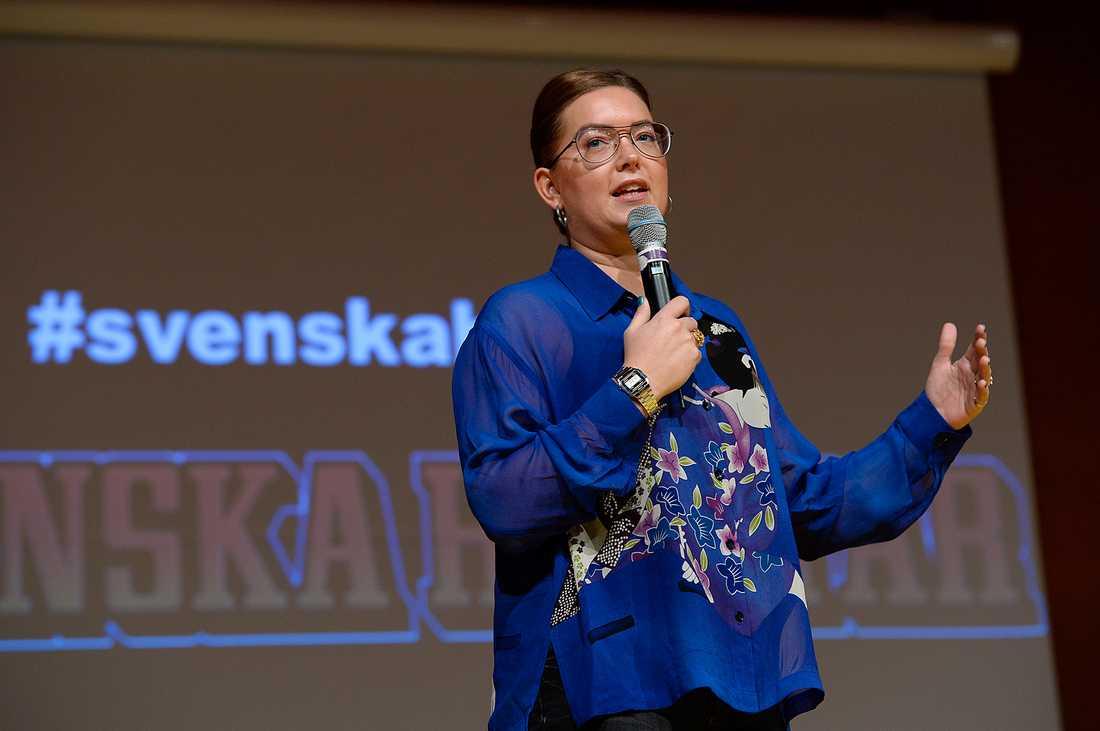 2009 hyllades Madelene Sundström för att hon vågade sätta stopp för en våldtäkt.