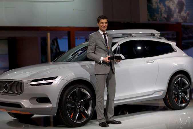 "Concept XC Coupe – den andra konceptbilen med det nya formspråket. Vann ""bästa design"" på Detroit-mässan 2014."