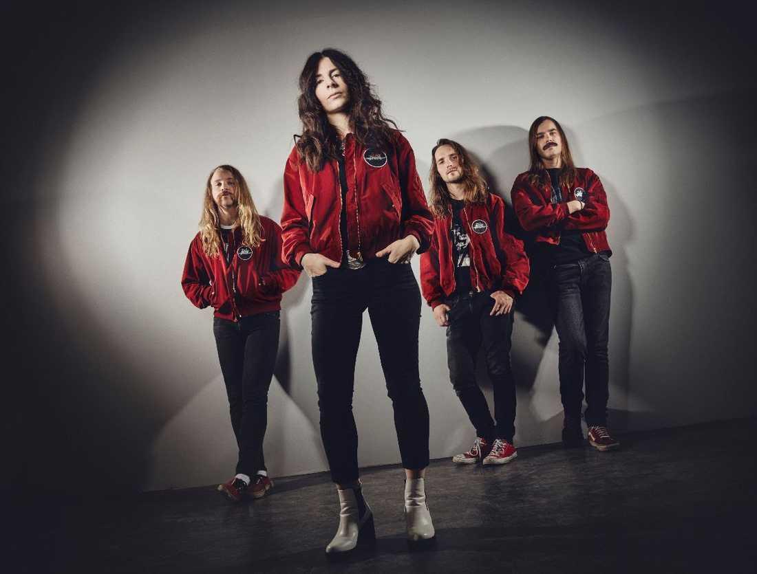"""Svenska rockbandet Hot Breaths debutalbum """"Rubbery lips"""" är ett måste för rockaren med förkärlek till rostig rock."""