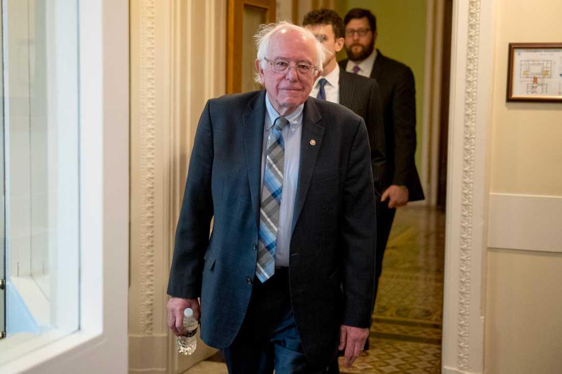 Det som talar emot Bernie Sanders är åldern.